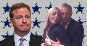 Jerry Jones, Rodger Goodell