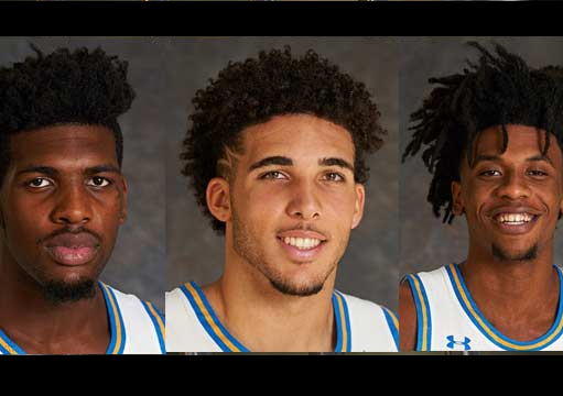 LiAngelo Ball, 2 other UCLA players arrested in China