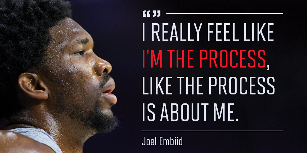U.S. patent office issues Joel Embiid the trademark for the phrase